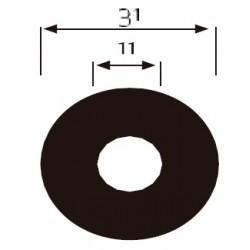 100 DISCOS ADHESIVOS DIAM. 31 Gr. 180